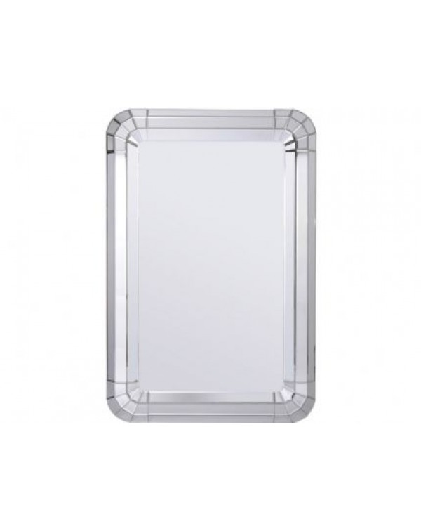 Libra Bellamy Curved Rectangular Mirror